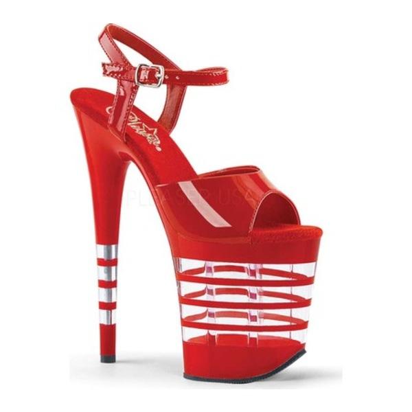 プリーザー レディース サンダル シューズ Flamingo 809LN Platform Sandal Red Patent/Red