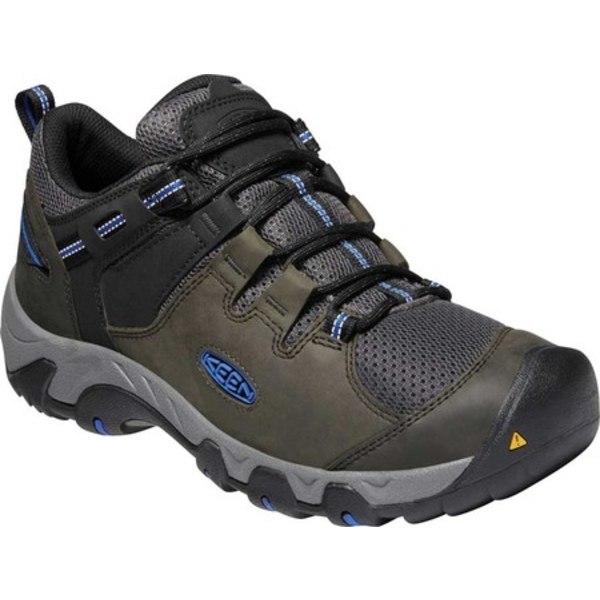 キーン メンズ ブーツ&レインブーツ シューズ Steens Vent Hiking Boot Magnet/Sky Diver
