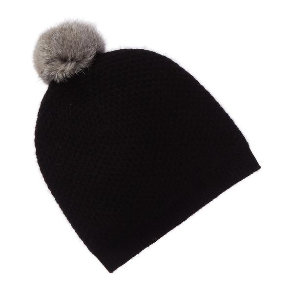 フェニックス レディース 帽子 アクセサリー Phenix Cashmere HoneyComb Hat black