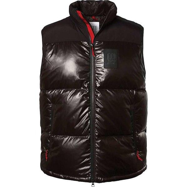 Men's Designs Big メンズ Black Vest アウター Topo Puffer ジャケット&ブルゾン トポ・デザイン