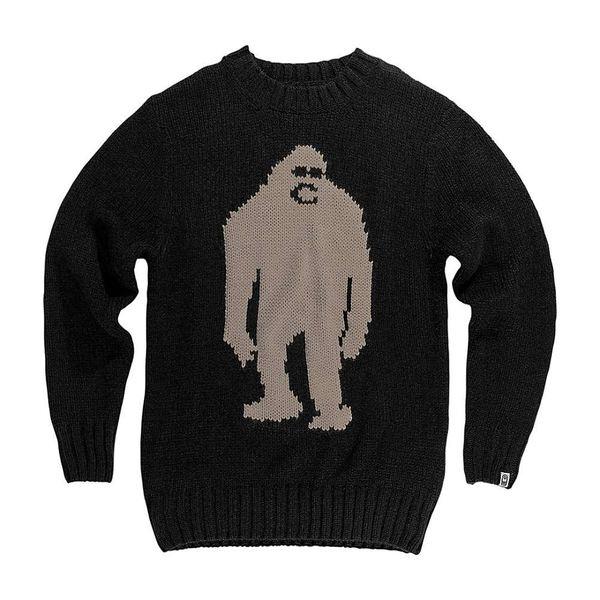 エアブラスター メンズ 予約販売品 アウター トレンド ニットセーター Black 全商品無料サイズ交換 Airblaster Sweater Sassy