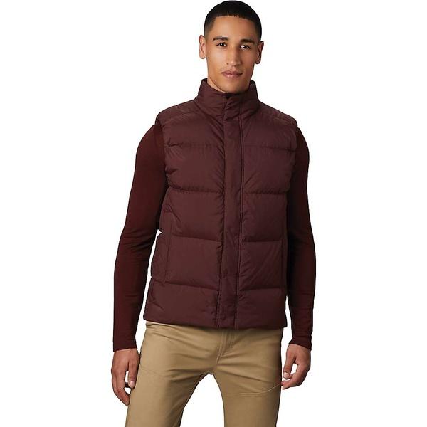 <title>マウンテンハードウェア メンズ アウター ジャケット ブルゾン Dark Umber 全商品無料サイズ交換 Mountain 高品質新品 Hardwear Men's Glacial Storm Vest</title>