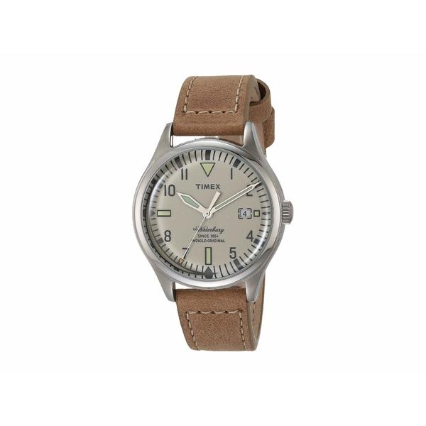 タイメックス メンズ 腕時計 アクセサリー Waterbury Tan