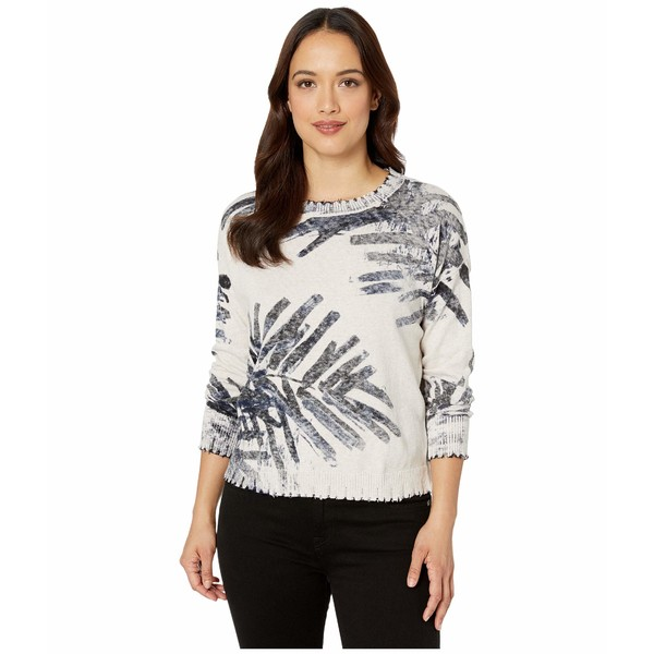 ニックプラスゾーイ レディース ニット&セーター アウター Petite Juniper Sweater Indigo Multi