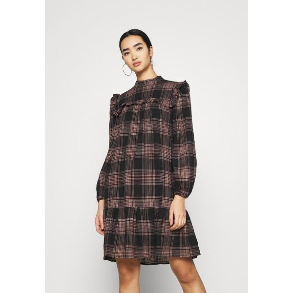 オブジェクト レディース 時間指定不可 トップス ワンピース black 全商品無料サイズ交換 dtaq002d OBJKAYLEE Day - dress DRESS 全品送料無料