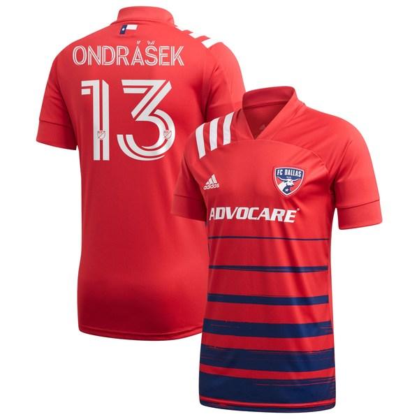 アディダス メンズ ユニフォーム トップス Zdenek Ondrasek FC Dallas adidas 2020 Legacy EQT Replica Jersey Red