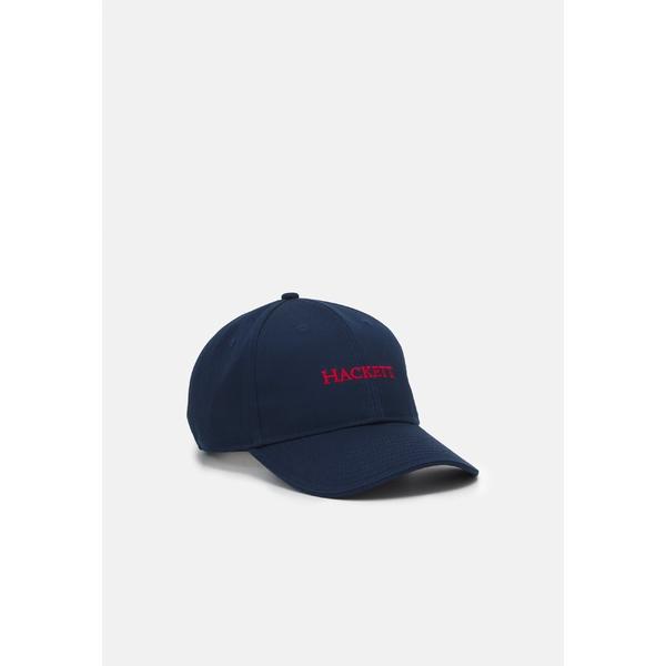 ハケット ロンドン メンズ アクセサリー 帽子 navy red CLASSIC - dvnq01c3 全商品無料サイズ交換 Cap 永遠の定番モデル 買収