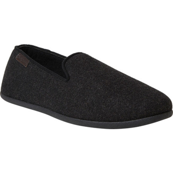 ディアフォームズ メンズ サンダル シューズ Microwool Smoking Indoor/Outdoor Slipper Black Microwool