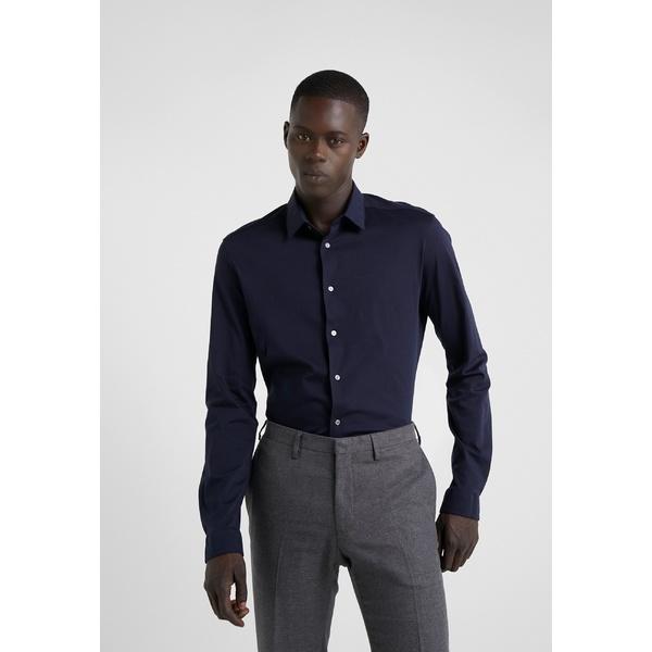 ドライコーン メンズ トップス シャツ navy RUBEN Shirt - 現品 全商品無料サイズ交換 dwhw01a6 特売