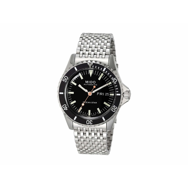 ミド メンズ 腕時計 アクセサリー 40.5 mm Ocean Star Tribute Automatic Stainless Steel Bracelet - M0268301105100 Silver