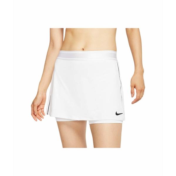 ナイキ レディース スカート ボトムス Court Dry Skirt Stretch White/Black/White/Black
