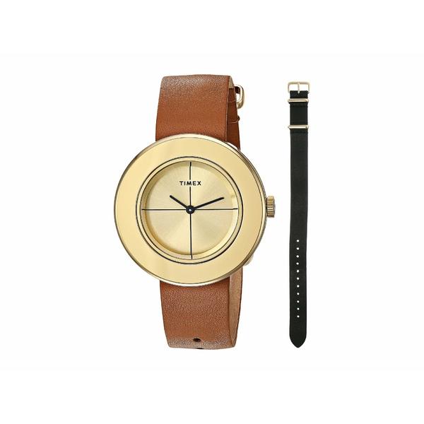タイメックス レディース 腕時計 アクセサリー Variety Box Set Black/Tan