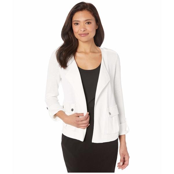 ニックプラスゾーイ レディース コート アウター Plus Size In Flight Jacket Paper White
