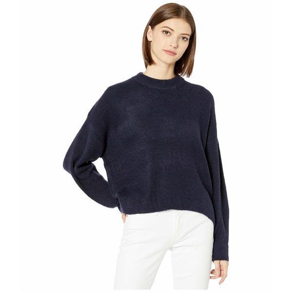 ビジョッププラスヤング レディース ニット&セーター アウター Montauk Sweater Navy