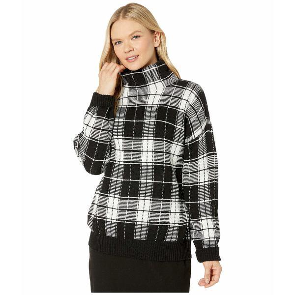 ラルフローレン レディース ニット&セーター アウター Wool-Blend Sweater Polo Black/Mascarpone Cream