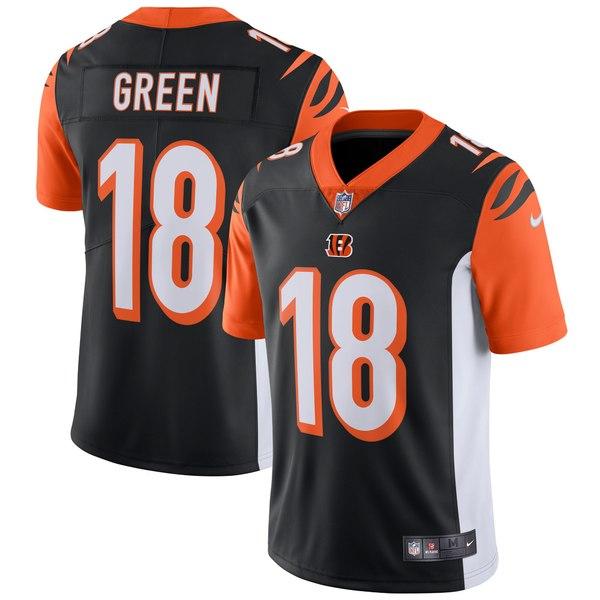 ナイキ メンズ ユニフォーム トップス A.J. Green Cincinnati Bengals Nike Vapor Untouchable Limited Player Jersey Orange
