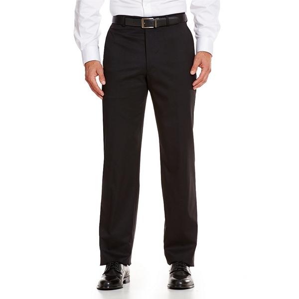 <title>ハートシャファネールマークス メンズ ボトムス カジュアルパンツ Black 全商品無料サイズ交換 Tailored 待望 Flat-Front Chicago Dress Pants</title>