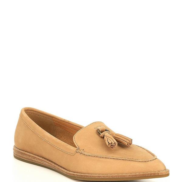 スペリー レディース サンダル シューズ Saybrook Leather Slip On Tassel Loafers Tan