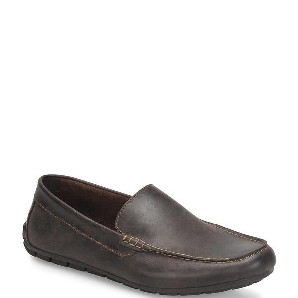ボーン メンズ スニーカー シューズ Men's Allan Slip On Loafer Dark Brown