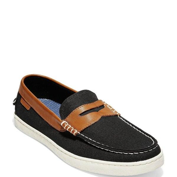 コールハーン メンズ スニーカー シューズ Men's Pinch Weekender Loafers Black/British Tan