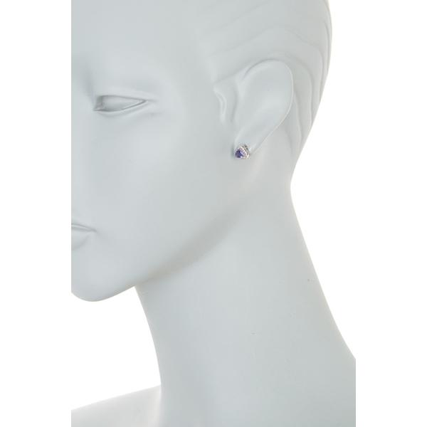 エフィー レディース アクセサリー ピアス イヤリング BLUE 全商品無料サイズ交換 14K White 卓抜 Diamond Stud 海外限定 Earrings Pave Gold Blue Sapphire Cut Trillion