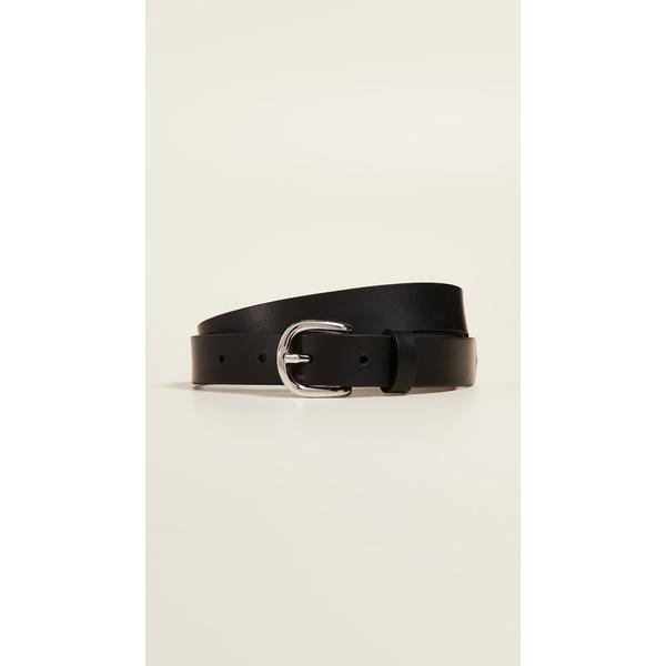 イザベル マラン レディース ベルト アクセサリー Zap Leather Belt Black