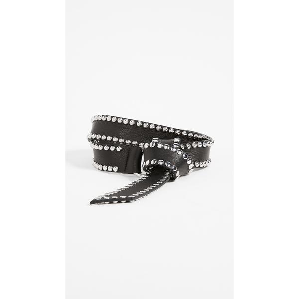 ビーロウザベルト レディース ベルト アクセサリー Mia Moto Belt Black/Silver