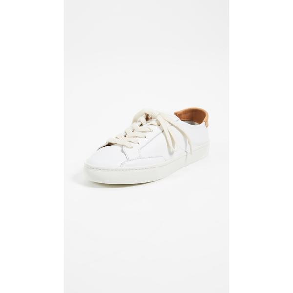 ソルドス レディース スニーカー シューズ Ibiza Classic Lace Up Sneakers White
