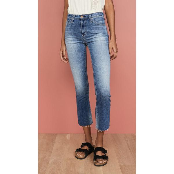 エージー レディース デニムパンツ ボトムス The Jodi Slim Flare Crop Jeans 12 Years Eternal Blue