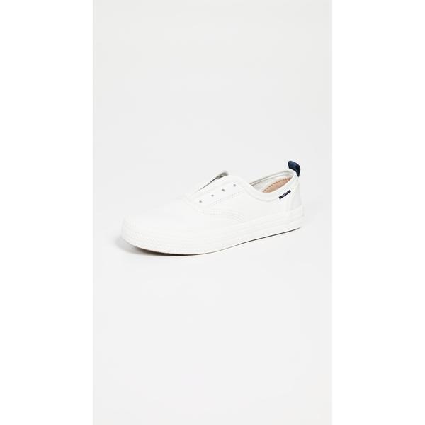 スペリー レディース スニーカー シューズ Crest Knot Fray Sneakers White