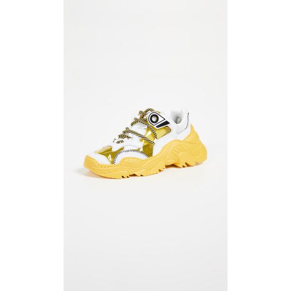 ナンバー21 レディース スニーカー シューズ Billy Sneakers White/Yellow