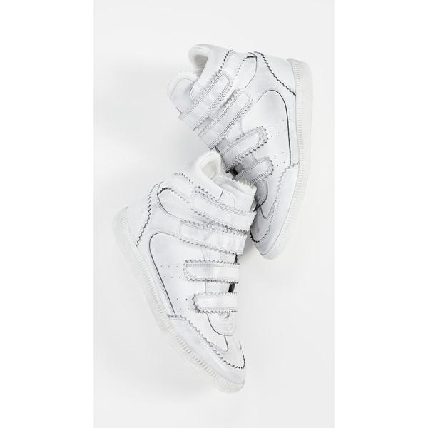 イザベル マラン レディース スニーカー シューズ Bilsy High Top Sneakers White