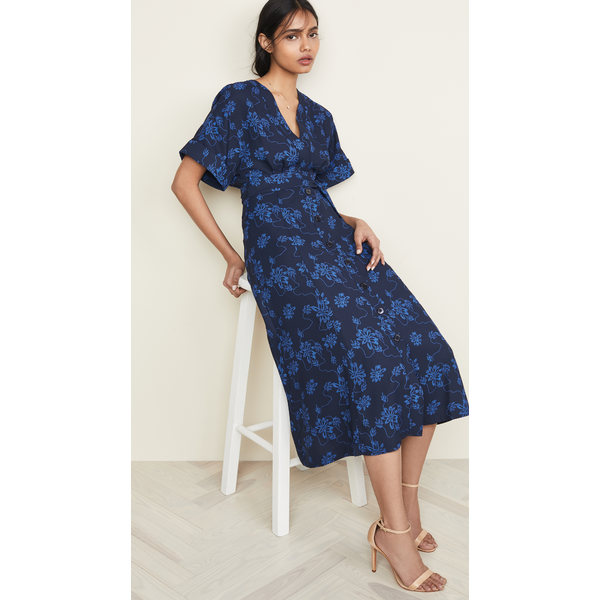 エキプモン レディース Eclipse/Bleu ワンピース トップス Nauman レディース Dress Eclipse/Bleu Nauman Cotier, selectshop PROLOGUE:d7a4714b --- officewill.xsrv.jp