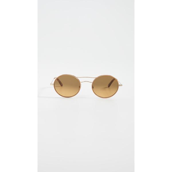 ギャレットライト レディース サングラス&アイウェア アクセサリー Sanborn 49mm Sunglasses Camel