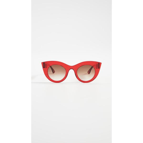ティエリー ラスリー レディース サングラス&アイウェア アクセサリー Melancoly 462 Sunglasses Red