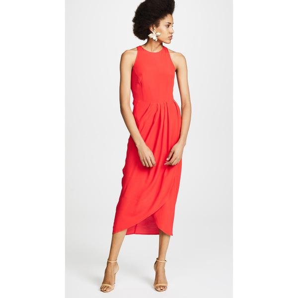 ユミキム レディース Red ワンピース トップス So Social レディース Dress ユミキム Red, Wine shop Cave:651127b3 --- officewill.xsrv.jp