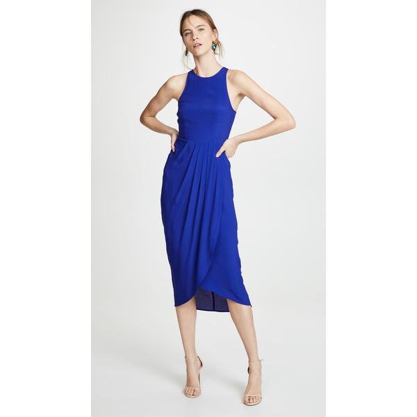 ユミキム レディース ワンピース トップス So Social Maxi Dress Royal Blue