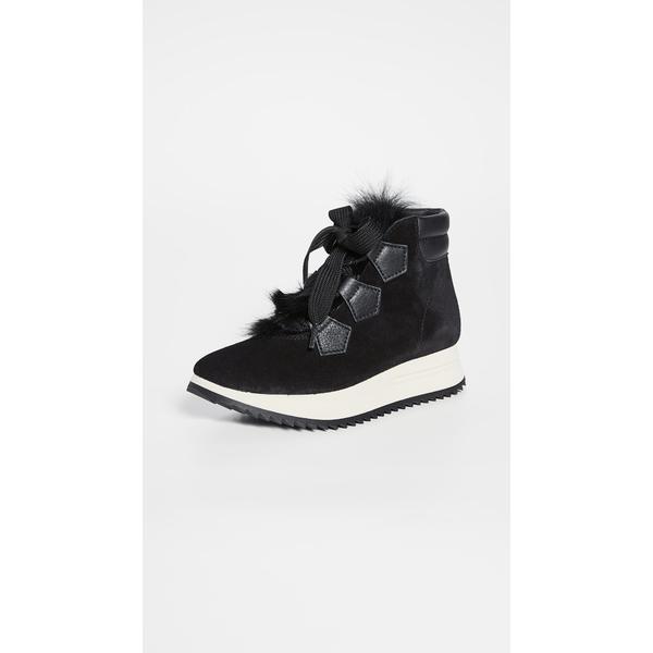 ペドロガルシア レディース スニーカー シューズ Olaf Sneaker Boots Black Castoro