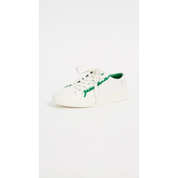 トリースポーツ レディース スニーカー シューズ Ruffle Sneakers Snow White/Vineyard