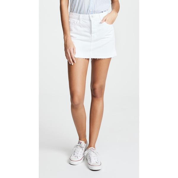 ジェイブランド レディース スカート ボトムス Bonny Mid Rise Miniskirt White