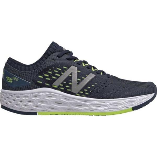 ニューバランス メンズ スニーカー シューズ Fresh Foam Vongo v4 Stability Running Shoe Natural Indigo/Lemon Slush