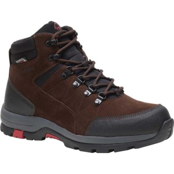 ウルヴァリン メンズ ブーツ&レインブーツ シューズ Rapid Waterproof Hiking Boot Brown Full Grain Leather