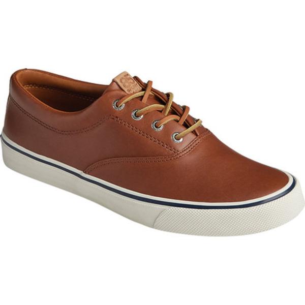 トップサイダー メンズ ブーツ&レインブーツ シューズ Striper II CVO 85th Anniversary Sneaker Brown/White Tumbled Leather
