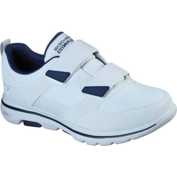 スケッチャーズ メンズ スニーカー シューズ GOwalk 5 Wistful Sneaker White/Navy