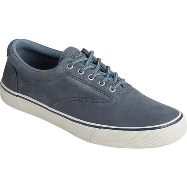 トップサイダー メンズ ブーツ&レインブーツ シューズ Striper II CVO Washable Sneaker Slate Blue Washable Nubuck