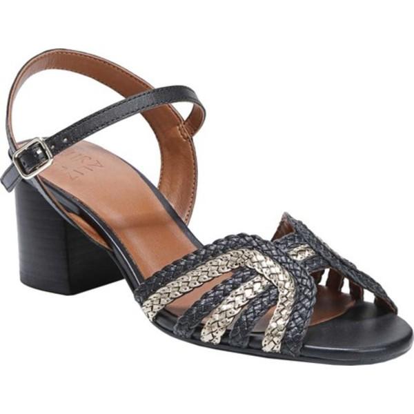 ナチュライザー レディース サンダル シューズ Kingston Ankle Strap Sandal Black Multi Metallic Leather