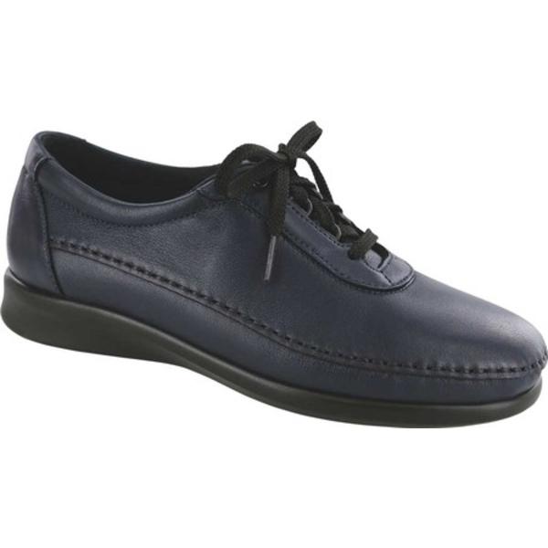 エスエーエス レディース スニーカー シューズ Traveler Walking Shoe Navy Leather