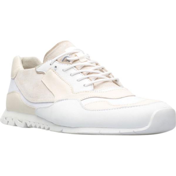 カンペール メンズ スニーカー シューズ Nothing Sneaker White Polyester/Calfskin