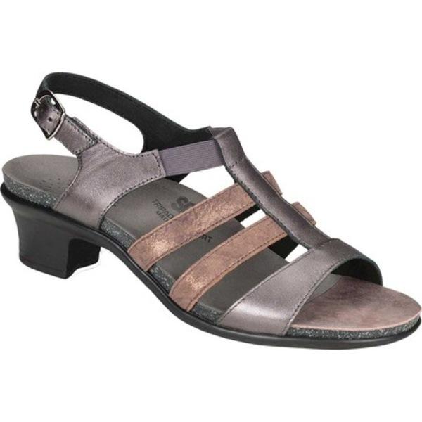 エスエーエス レディース サンダル シューズ Allegro Heeled Strappy Sandal Santolina Leather