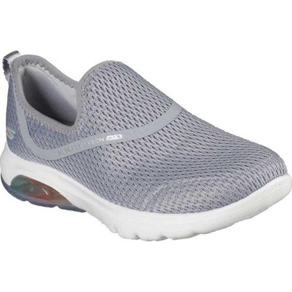 スケッチャーズ レディース スニーカー シューズ GOwalk Air Twirl Slip On Sneaker Gray